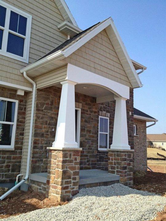 120 best images about unique home features on pinterest for Cypress porch columns