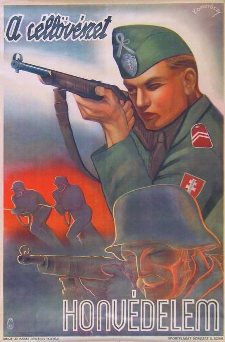 Komoróczy: A céllövészet honvédelem (Levente)