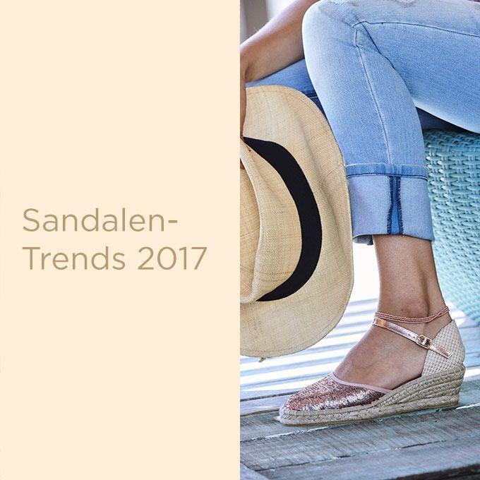BAUR & Me Blog | Sandalen-Trends 2017 – endlich frei!