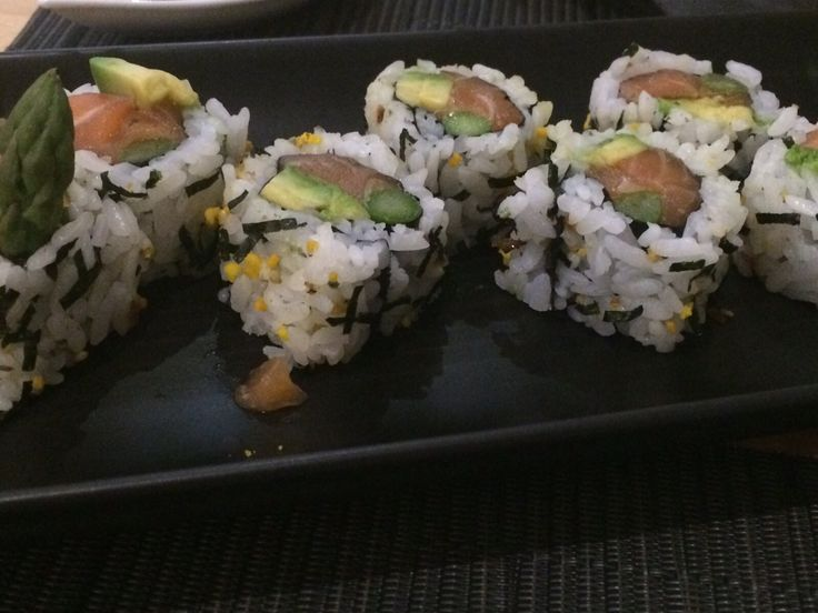 Sushi with flavour, Oleo restaurante, Malaga, Spain