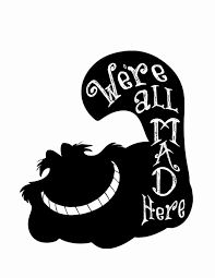 Image result for alice in wonderland silhouette