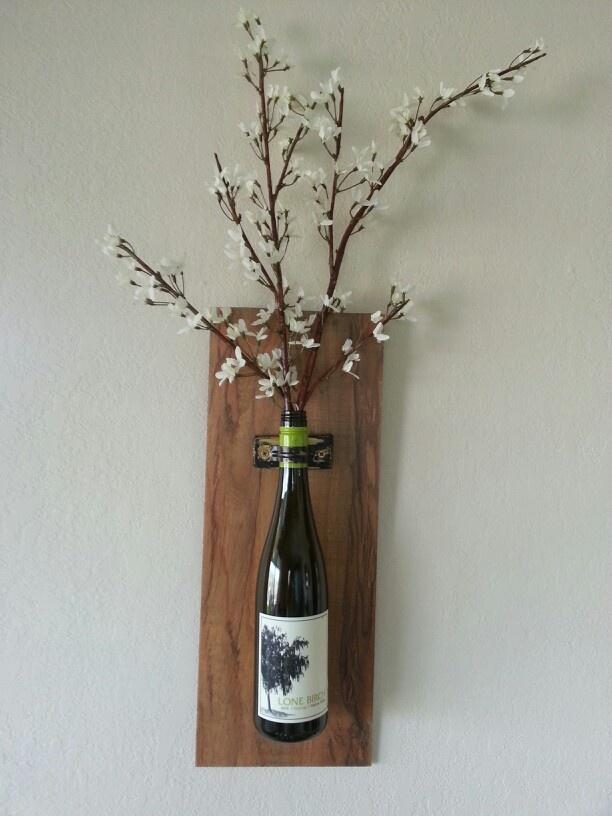 Wine Bottle Decor Diy Pinterest Bottle Wall Wall Decor And Wine Bottles Decor