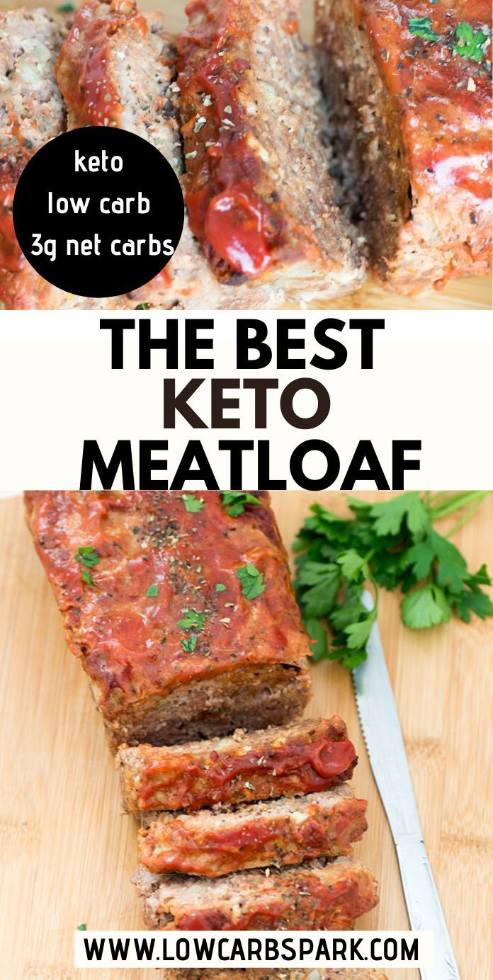 The Best Keto Meatloaf Just Like My Mother Used To Make It Recipe Keto Recipes Easy Keto Recipes Dinner Low Carb Meats