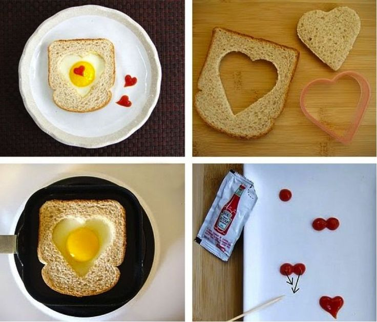 Romantic Breakfast Idea