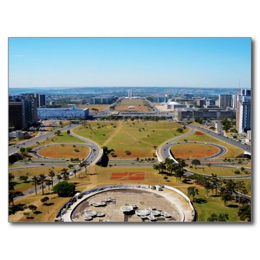 Brasilia Postcards