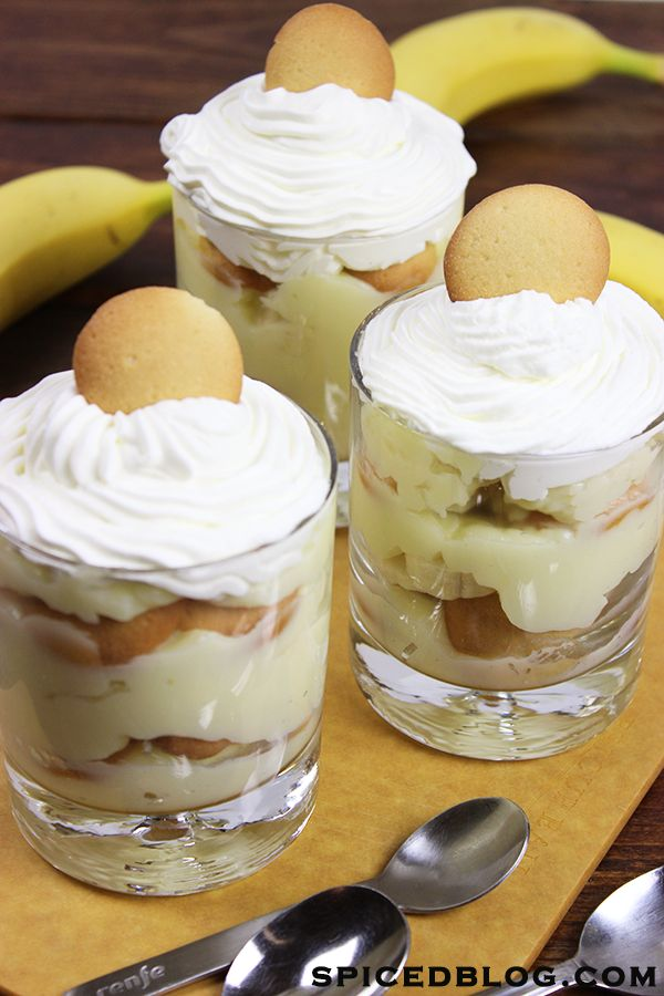 Homemade Southern Banana Pudding for Monkey's first birthday!!