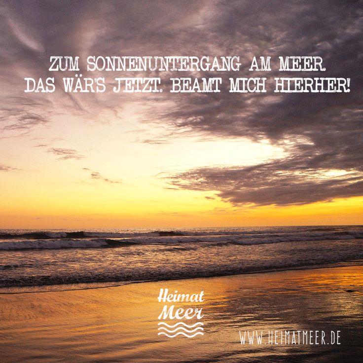 Beam Mich Zum Sonnenuntergang Einfach Ans Meer! Die Passende Klamotte  Gibt#s Hier U003e