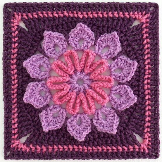 crochet granny square pattern - Google Search