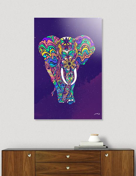 Discover «Not a circus elephant», Limited Edition Acrylic Glass Print by Edu Al Peirano - From $99 - Curioos