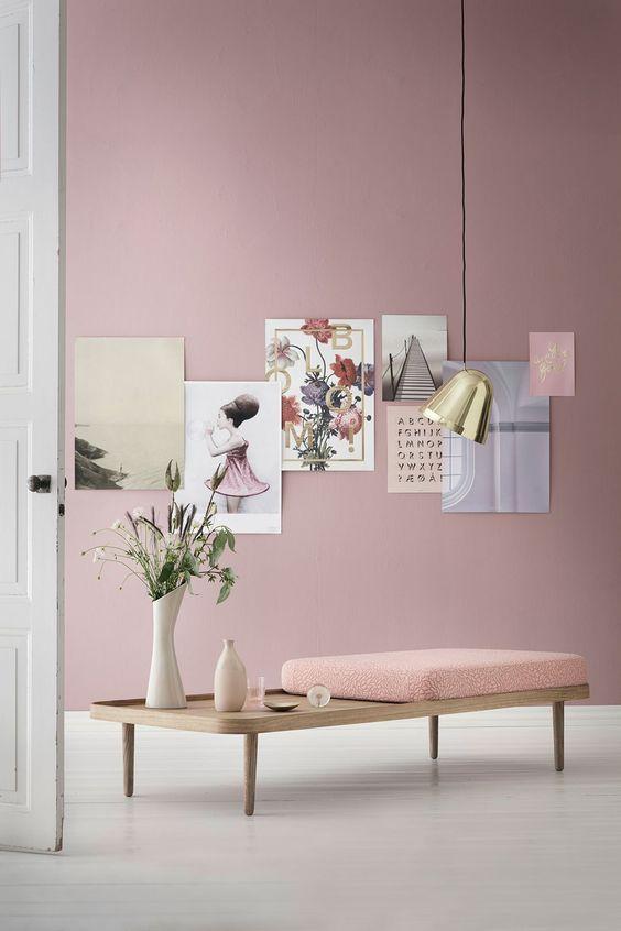 Les 25 Meilleures Id Es De La Cat Gorie Murs D 39 Accent Rose Sur Pinterest Touches De Rose Murs
