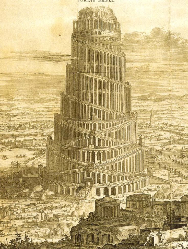 It'a party time for the guys in the Tower of Babel. Sodom meet Gomorrah, Cain meet Abel.  Have a ball ya'll...