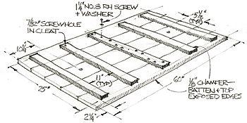 how to build trestle legs
