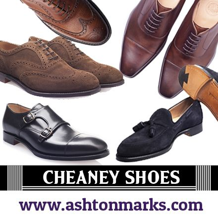 check out the various styles of Men's formal shoes with exclusive designs and trendy looks @Ashton Jenkins Marks  #cheaney