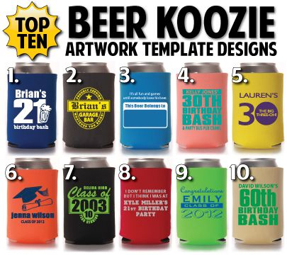 just in here are totally promotional 39 s top 10 beer koozie template designs what is your. Black Bedroom Furniture Sets. Home Design Ideas