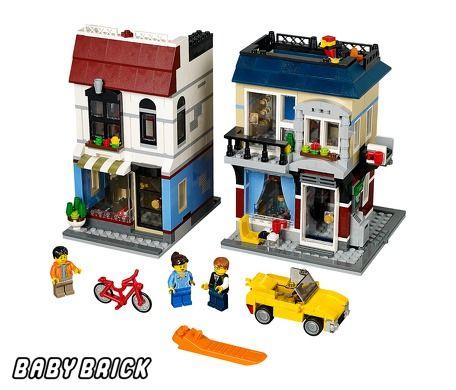 Фотография конструктора Городская улица (Lego 31026)
