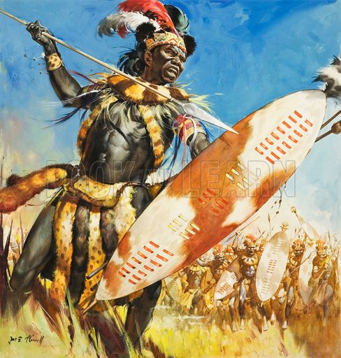 Zulu, picture, image, illustration