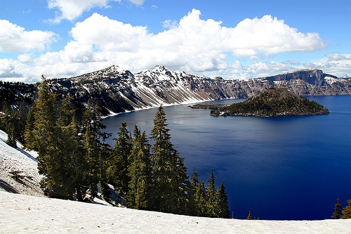Crater Lake, Oregon  Love this place!