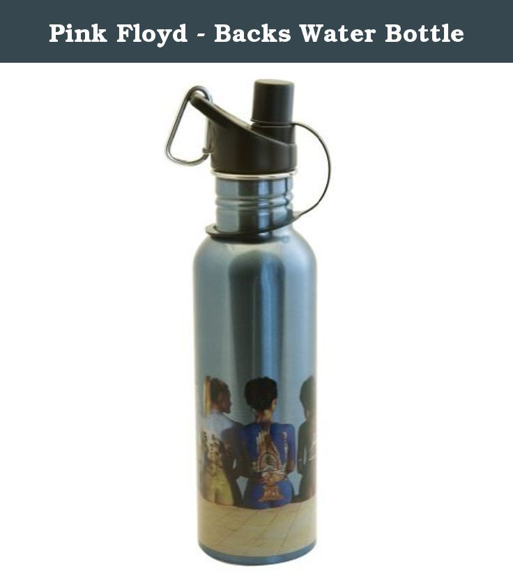 Pink Floyd - Backs Water Bottle. Pink Floyd's iconic back catalogue poster art is masterfully reproduced on the side of this metallic blue, stainless steel water bottle. Featuring a BPA-free plastic sports cap with screw-off construction and an attached metal carabiner and comfortable top grip. Perfect for sports, work, school and other every day use, this is just what any Floyd fan needs to take the contents of their saucerful of secrets on the go. WARNING CA RESIDENTS (PROP 65) This...