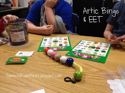 Combining artic bingo with the EET. Treatment idea for mixed groups!