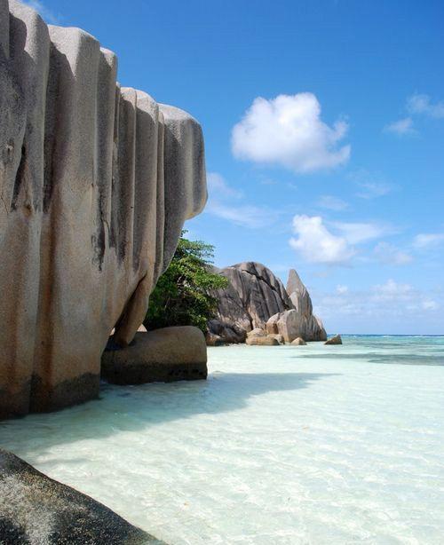 Seychelles Beach: Seychelles Beautiful Tropical Beach