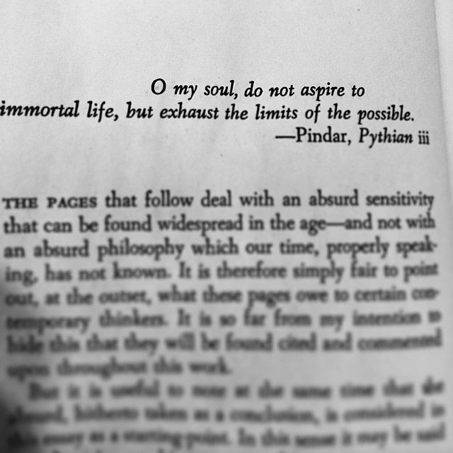 The Myth of Sisyphus Albert Camus existentialism books