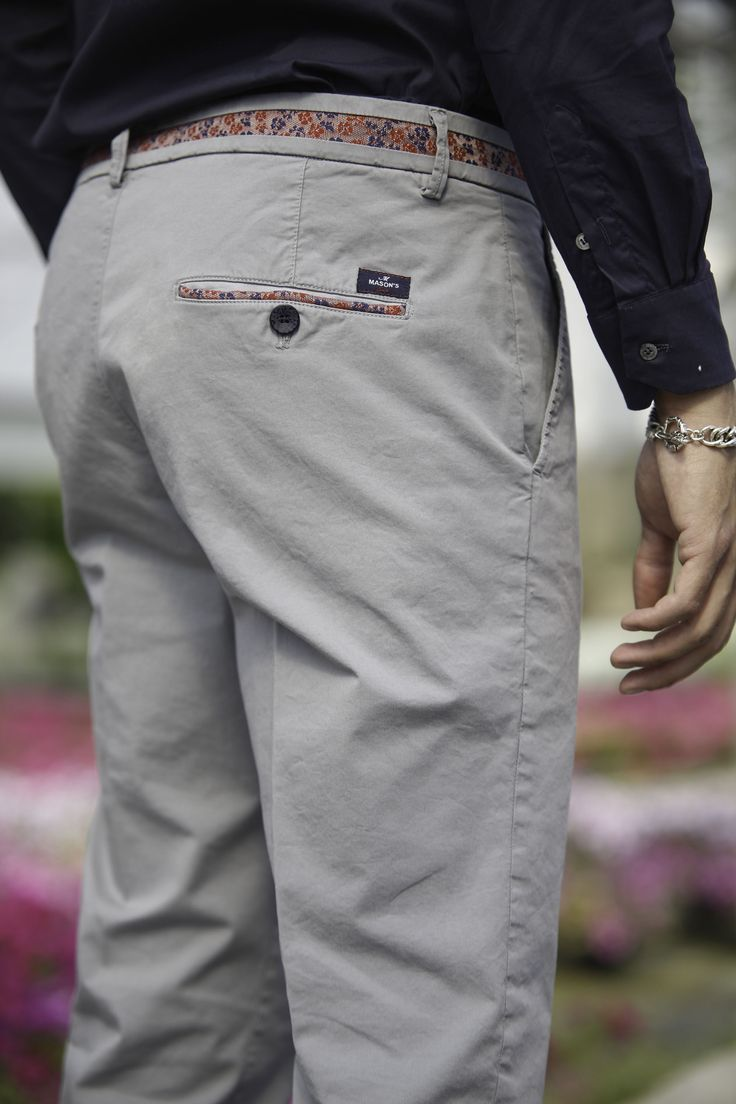 Mason's Man Chino Pants model Torino Hawaii - Masons