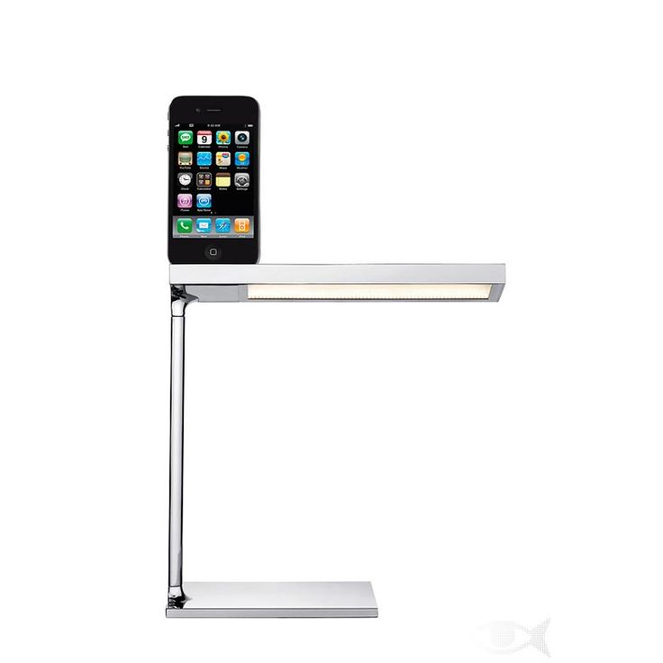 Du0027E LIGHT By Philippe Starck For FLOS LED Desk Lamp With Charging Device