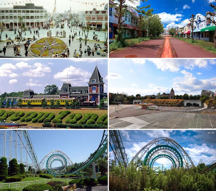 Nara Dreamland Then Heyday And Now Abandoned Amusement