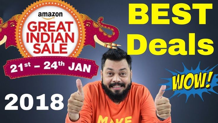 AMAZON GREAT INDIAN SALE is BACK! Best Smartphone Deals https://youtu.be/WjlzDZI11cA