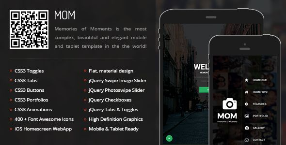 Mom   Mobile & Tablet Responsive Template