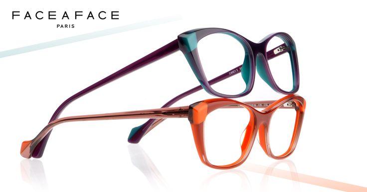 #faceaface CAREY3 . What color do you find the most interesting; Dark plum / Duck blue or Mink / bright orange ? // Quelle couleur trouvez-vous la plus intéressante; Prune sombre / bleu canard ou Vison rosé / Orange vif ? #eyewear #lunettes Face à Face on FB : https://www.facebook.com/pages/Face-%C3%A0-Face/57036880657