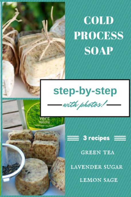 It's less intimidating to make cold-process soap when there are step-by-step instructions and photos. This DIY tutorial is for vegan green tea soap.