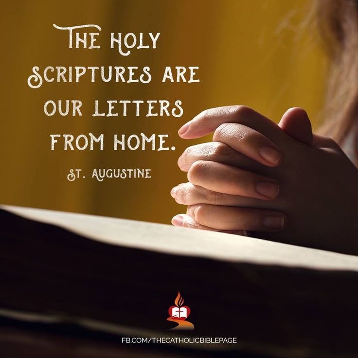 The Bible contains love letters from our real home.