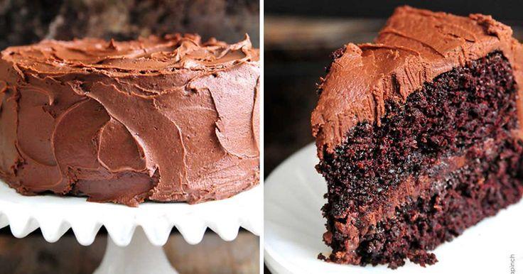 Recept na lahodný čokoládový dort s polevou