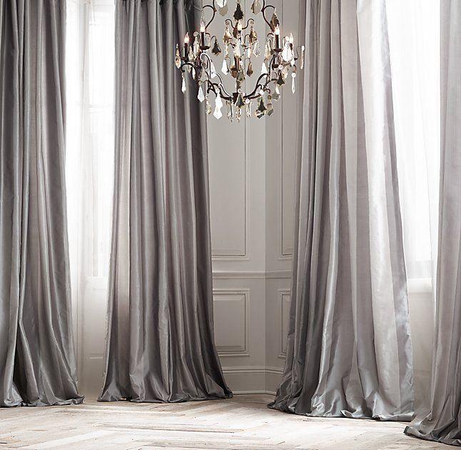 17 Best Ideas About Silk Curtains On Pinterest Pink