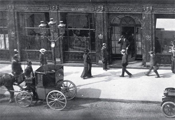 Cartier store, Paris,13 Rue de la Paix, 1900.
