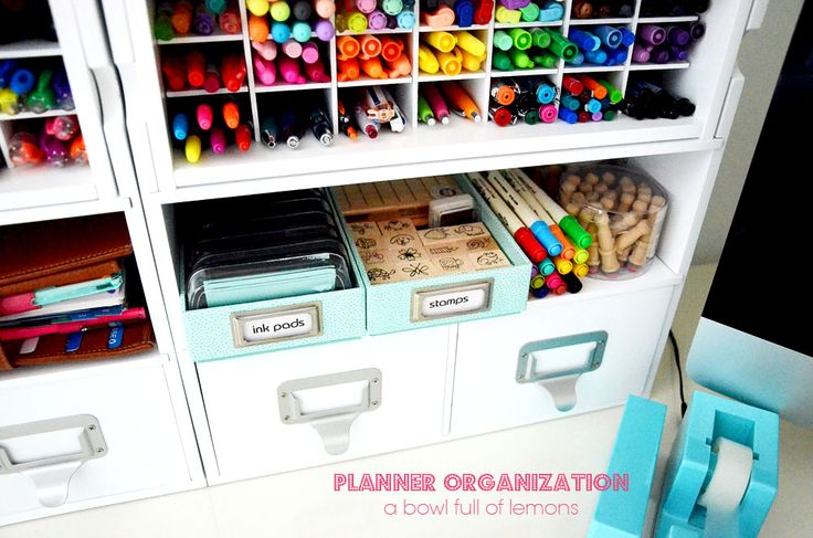 I purchased the pen organizer from Michaels. Its Recollections brand. I have a 'thing' for pens too! ;)