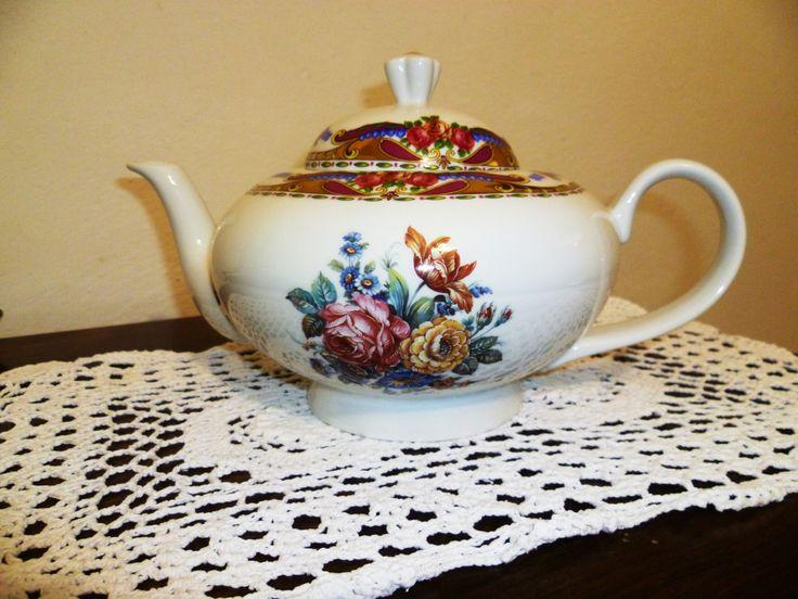 Teiera di Limoges francese dell'annata /Vintage French Limoges teapot di BRAMAS su Etsy