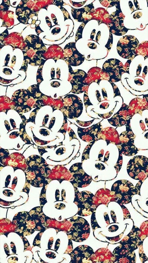 Imagem de wallpaper, disney, and mickey mouse