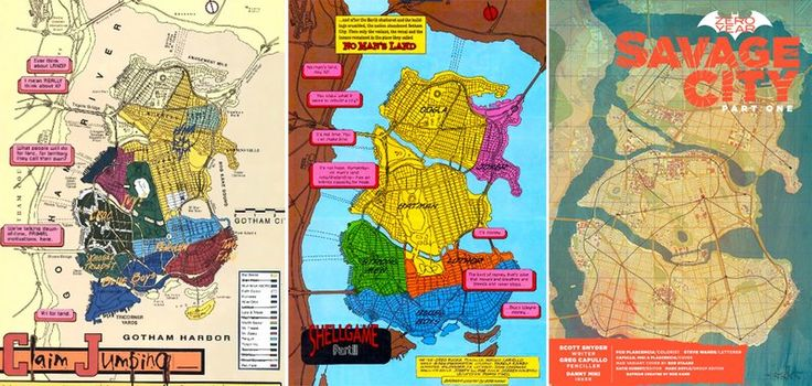 The Cartographer Who Mapped Out Gotham City -  Batman has been guarding Gotham for 75 years, but its city limits weren't defined until 1998