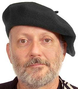 how to wear a beret male