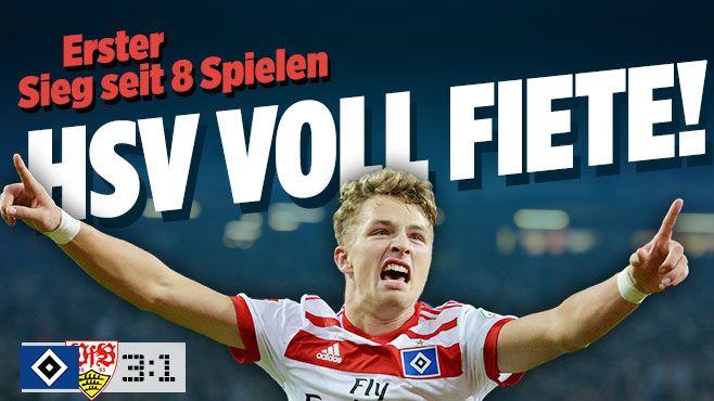 Hamburger SV gegen VfB Stuttgart - Bild.de