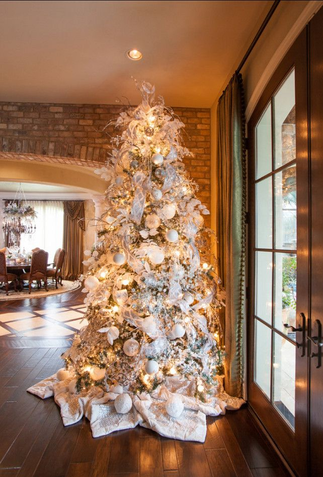 Best 20 White christmas tree decorations ideas on Pinterest
