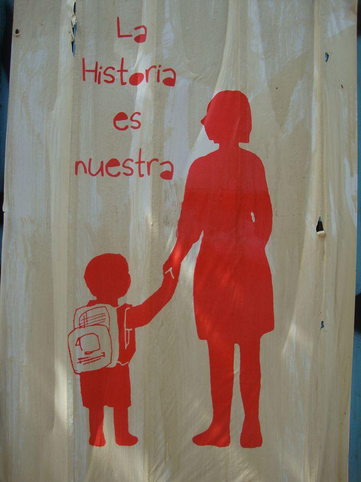 La historia es nuestra. Santiago de Chile, Romería al Cementerio General, 8 de sept. de 2013. A 40 años del golpe.