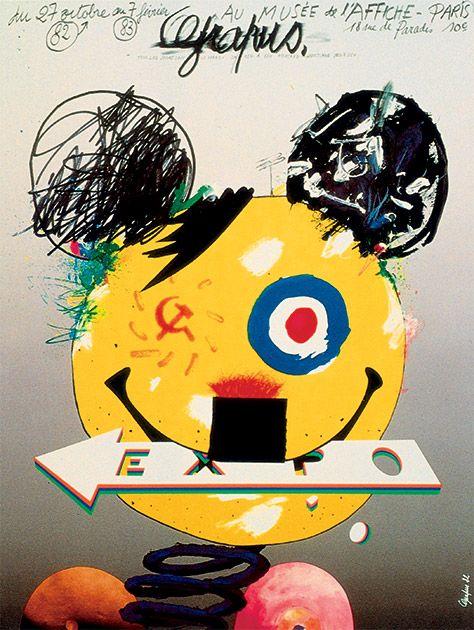 Musée de l'affiche - Pierre Bernard (1942-2015)