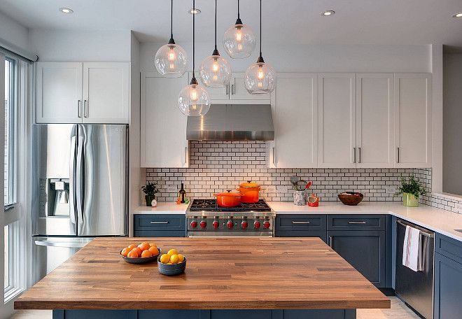 Stylish And Lovely Two Tone Kitchen Cabinet Design Ideas Kitchen Remodel White Kitchen Paint Kitchen Inspirations