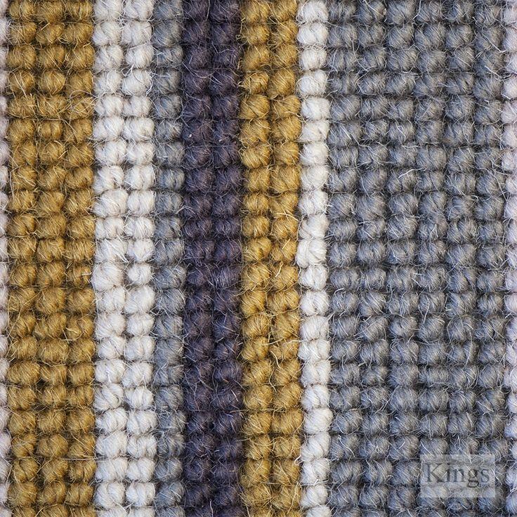 #HughMackay #Carpets Durham County Loop Stripe www.kingsinteriors.co.uk/flooring/striped-carpet