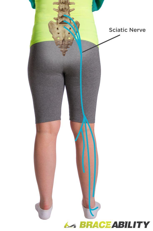 sciatic nerve pain right leg
