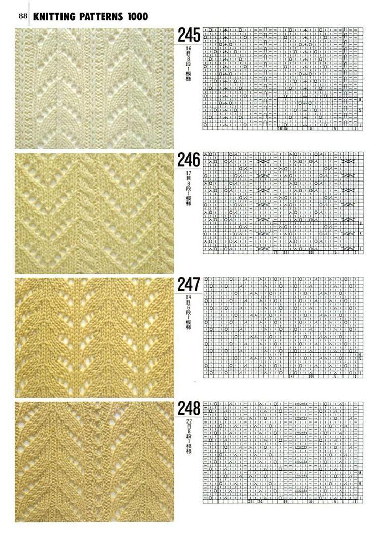 1000 узоров для вязания