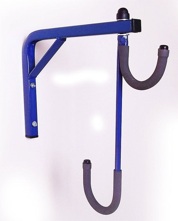 2 bicicleta bicicleta pared espacio Rack ahorro almacenamiento sótano/garaje para colgar por JarpenArt